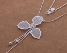 AN535-925-sterling-silver-Necklace-925-silver-fashion-jewelry-Sand-petals-dcnaltua (1)